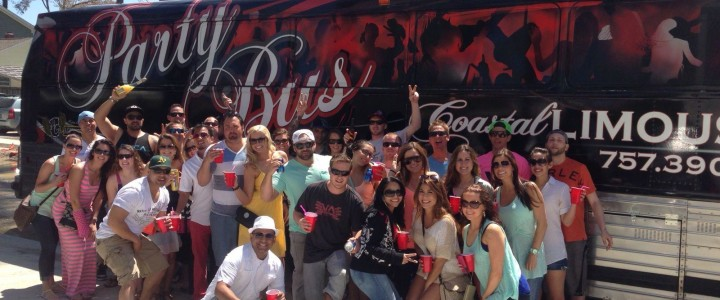 Big Red Party Bus