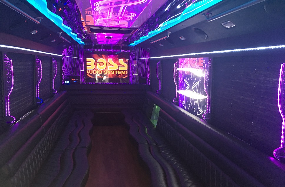 bachelor party bus hampton roads